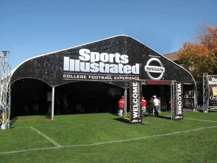 Sports Illustrated Graphical Tents - Anchor Industries